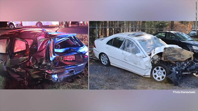 snapchat car accident