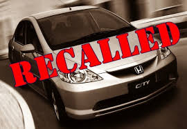 recalled vehicle