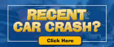 car crash banner