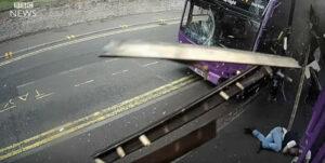 hit bus