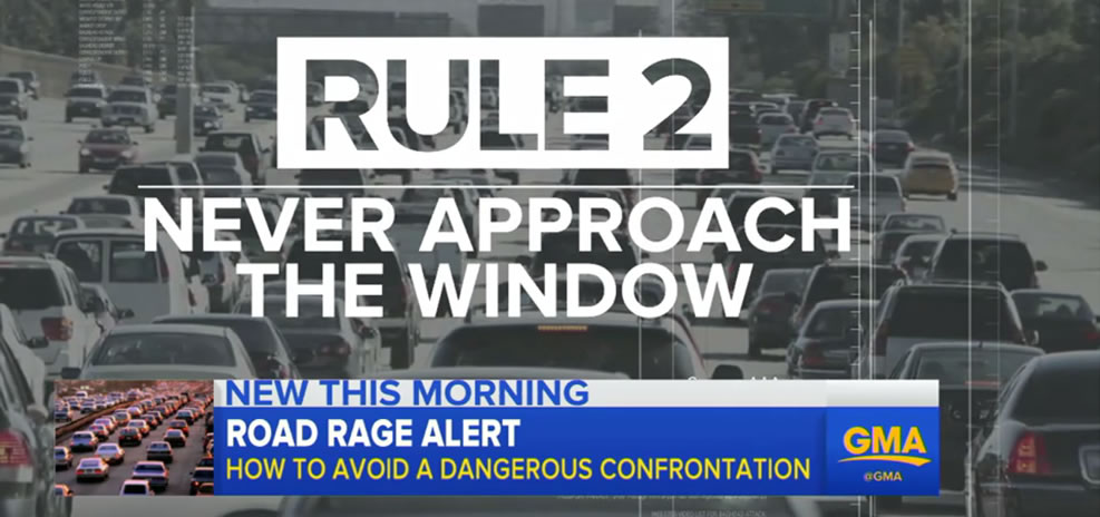 road rage window approach