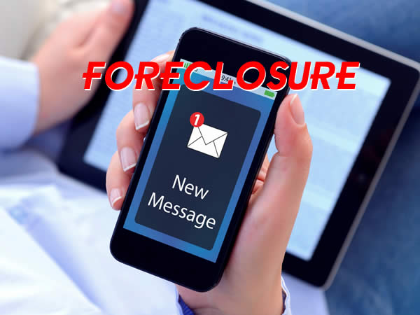 foreclosure notification