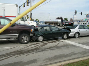 partially responsible car accident