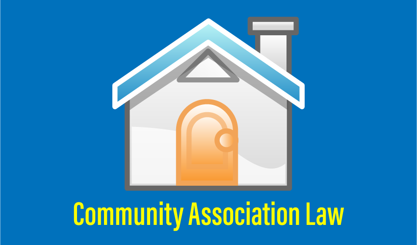 Community Association Law Legal Counseling