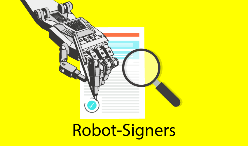 Impact of the Robot-Signers on Homeowners: Foreclosed Homes