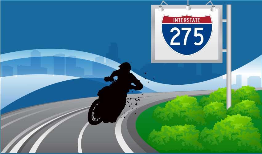motorcycle crash 275 tampa